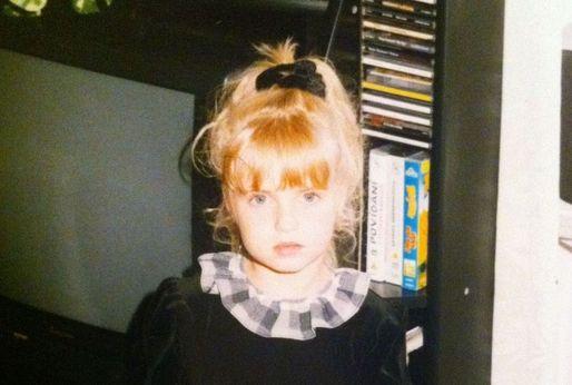 Gábina Gunčíková byla v dětství velmi roztomilá.