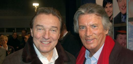 Karel Gott a Pierre Brice.