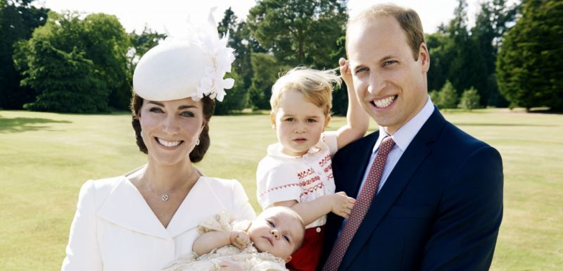Kate a William s princem Georgem a princeznou Charlotte.