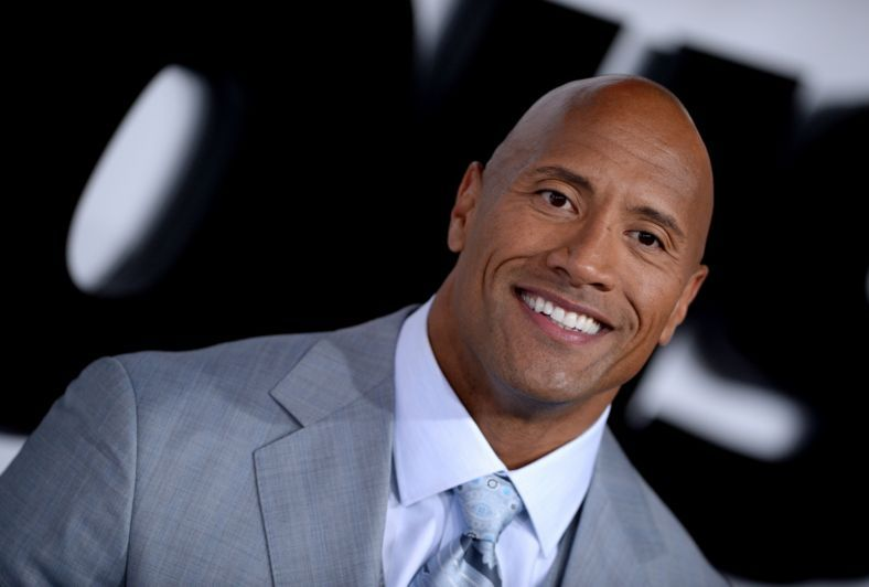 Dwayne Douglas Johnson alias The Rock je pěkný vtipálek.