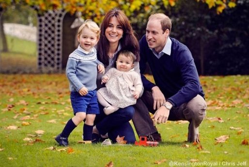Kate, William, George a Charlotte oslaví Den matek v kruhu rodinném.