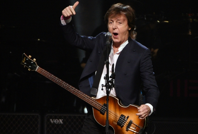 Do Prahy míří legendární člen Beatles, Paul McCartney.