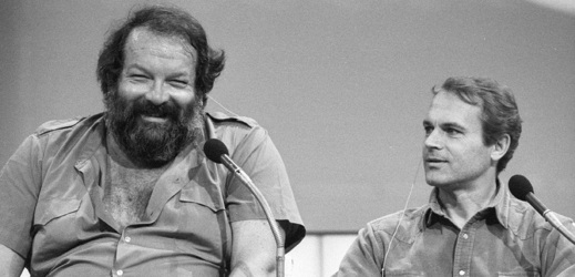 Legendární dvojice Bud Spencer a Terence Hill.