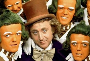 Gene Wilder jako Willy Wonka.