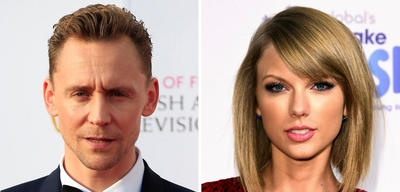Tom Hiddleston a Taylor Swift.