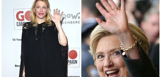 Courtney Love a Hillary Clinton.