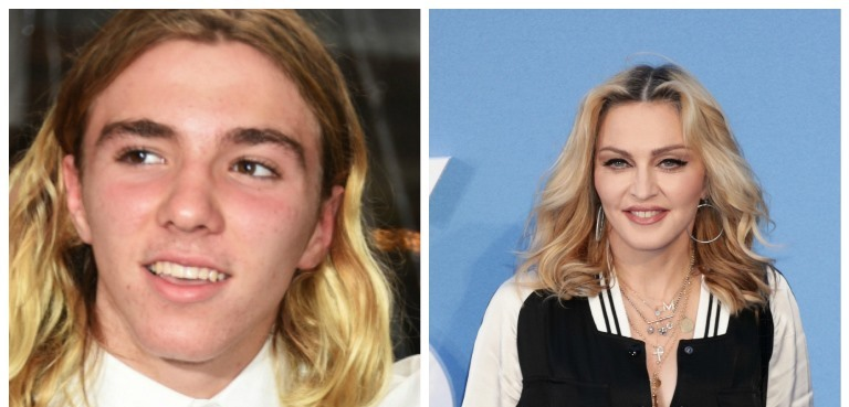 Madonna a její syn Rocco Ritchie.