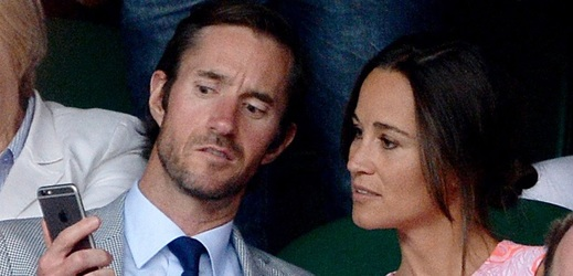 Pippa Middleton a James Matthews.