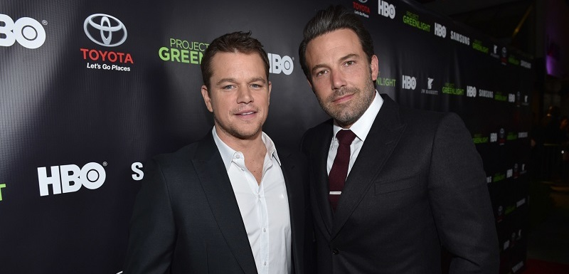 Matt Damon a Ben Affleck.