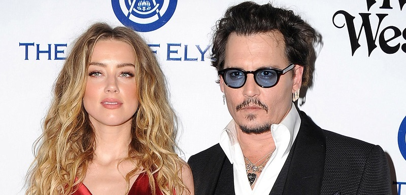 Amber Heard a Johnny Depp.