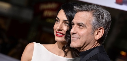 George a Amal Clooney.