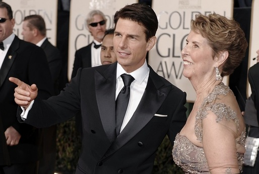 Tom Cruise a jeho matka.