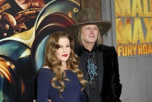 Lisa Marie Presley a Michael Lockwood.