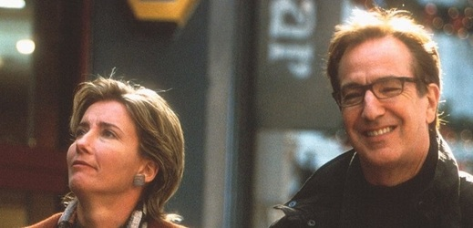 Emma Thompson a Alan Rickman.