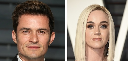 Orlando Bloom a Katy Perry.