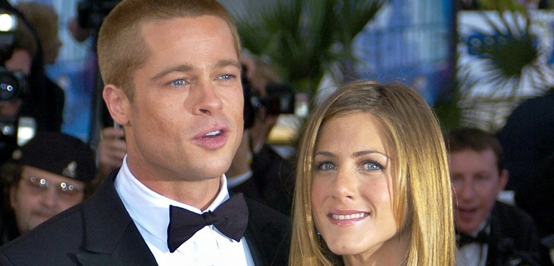 Brad Pitt a Jennifer Aniston.