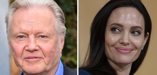 Jon Voight a Angelina Jolie.