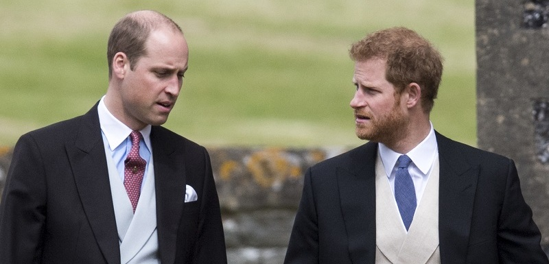 Princové William a Harry.