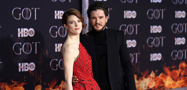 Kit Harington a Rose Leslie.