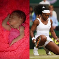 Serena Williams a Alexis Olympia.