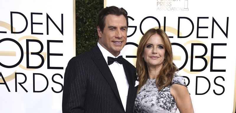 John Travolta a Kelly Preston.