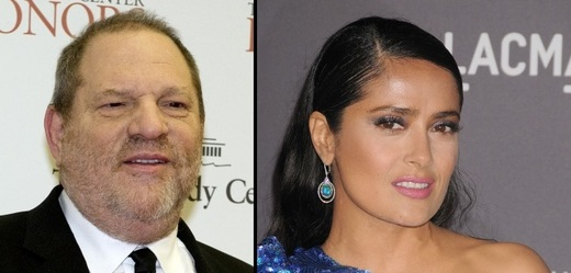Harvey Weinstein a Salma Hayek.