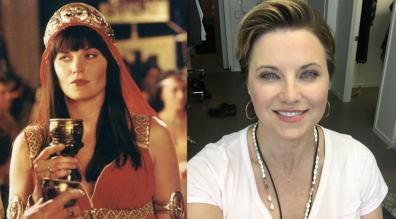 Lucy Lawless.