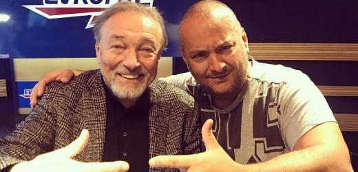 Karel Gott a Patrik Hezucký.