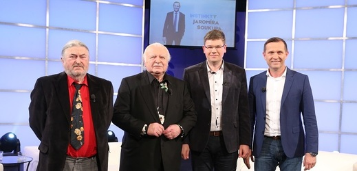 František Ringo Čech, Milan Knížák, Jiří Pospíšil a Jaromír Soukup.
