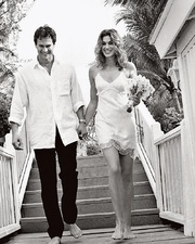 Cindy Crawford a rande Gerger.