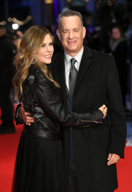 Tom Hanks a Rita Wilson.