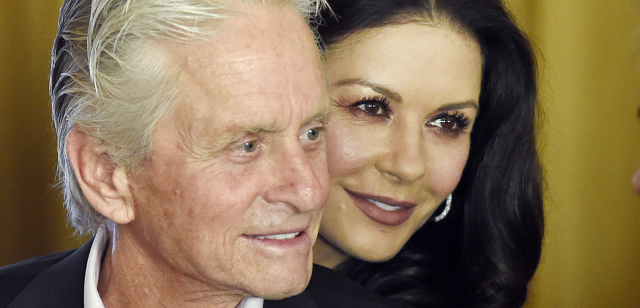 Michael Douglas a Catherine Zeta-Jones.