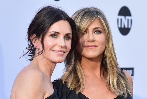 Courteney Cox a Jennifer Aniston.