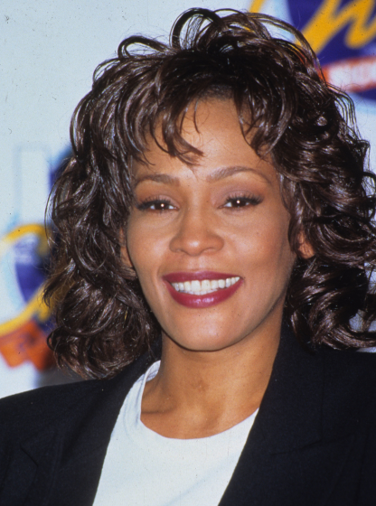 Whitney Houston v roce 1996.