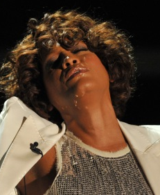 Whitney Houston v roce 2009.