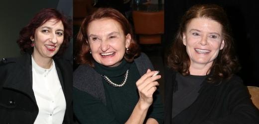 Simona Babčáková, Eva Holubová a Zuzana Bydžovská.