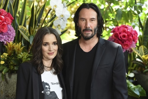 Winona Ryder a Keanu Reeves.