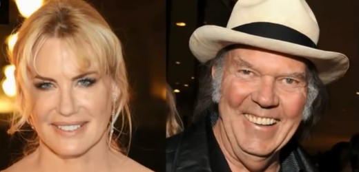 Daryl Hannah a Neil Young.