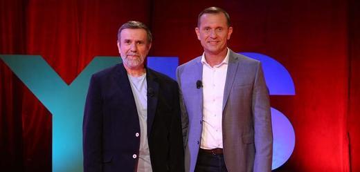 Vlastimil Vondruška (vlevo) a Jaromír Soukup.