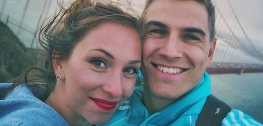 David Gránský se snoubenkou.
