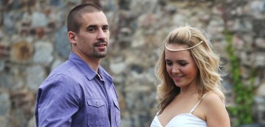 Tomáš Plekanec a Lucie Vondráčková.