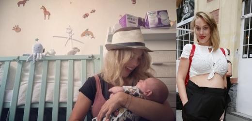 Novopečená maminka Krejčíková ukázala syna. Jak to zvládá?