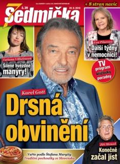 Nové číslo časopisu Sedmička je právě v prodeji!