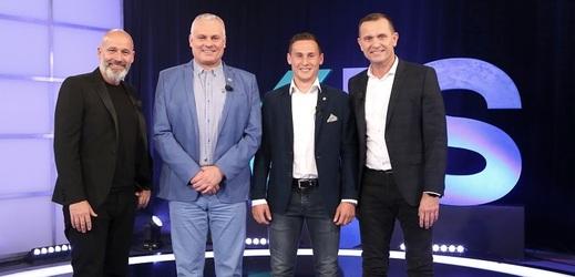 Honza Musil, Robert Změlík, Jan Bořil a Jaromír Soukup.