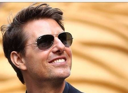 Fešák Tom Cruise.