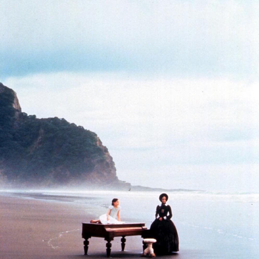 Slavný film Piano s Holly Hunter.