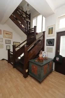 Pohled na schodiště.