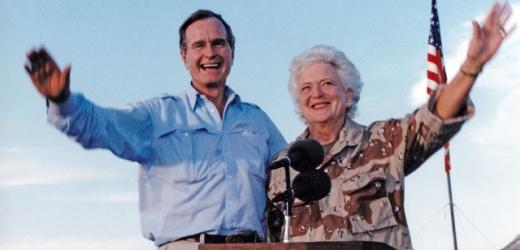 George a Barbara Bushovi.