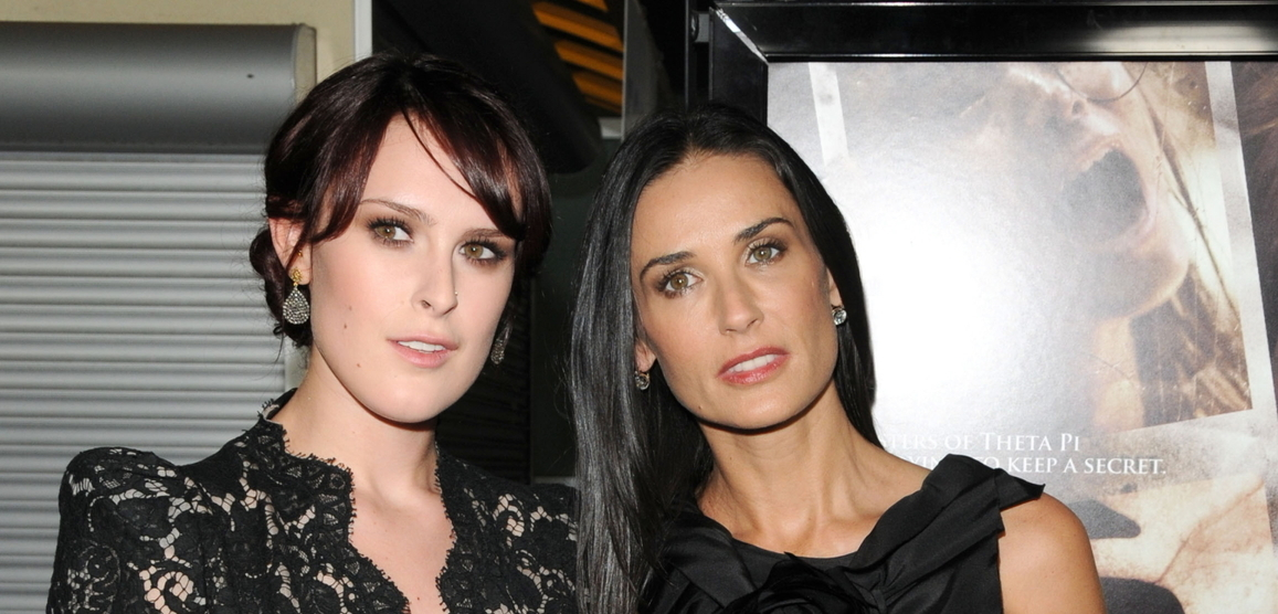 Rumer Willis a Demi Moore.