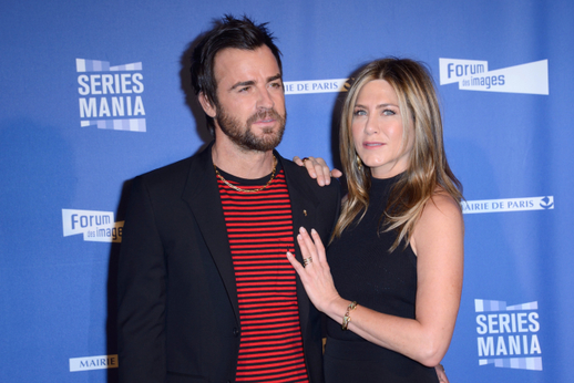 Jennifer Aniston a Justin Theroux.